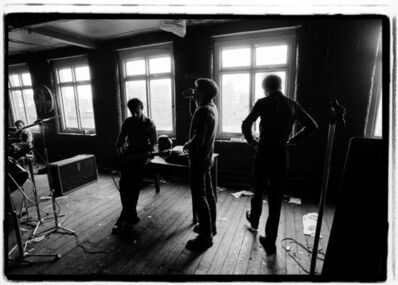 Kevin Cummins, '3. Joy Division, TJ Davidson's rehearsal room, Little Peter Street, Manchester 19 August 1979 ', 2006