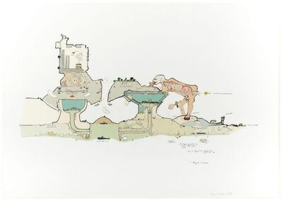 Gianfranco Baruchello, 'Tertium Dufur', 1988