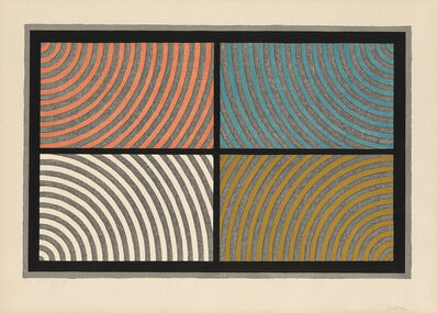 Sol LeWitt, 'Arcs from Four Corners', 1986