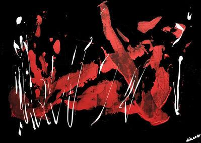 RINA DI MARCO, 'Rouge et noir', 2019