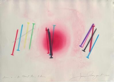 James Rosenquist, 'Drawing #14 For Heart Time Flowers', 1980