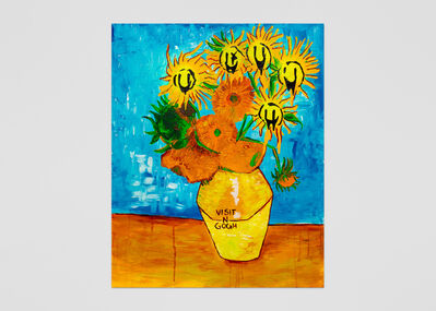 Vernon O'Meally, 'Visit-n-Gogh (Blue)', 2018