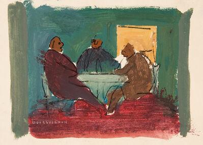 Paul-Henri Bourguignon, 'Dogs at Play (54-11763)', 1954