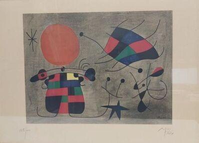Joan Miró, 'Le sourire aux ailes flamboyantes ', 1954