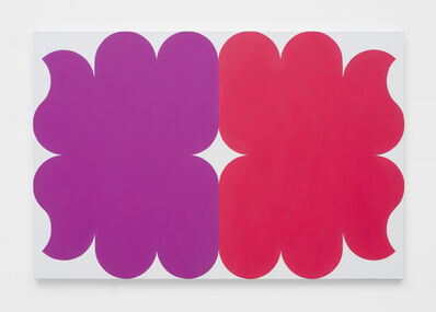 Linda Daniels, 'Violet Red with White', 2019