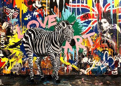 Yuvi, 'Urban Zebra', 2018