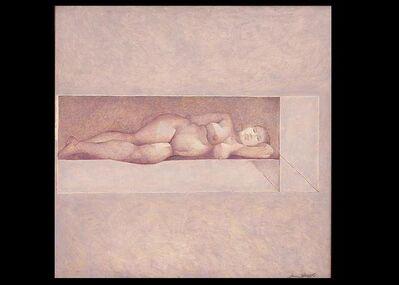 Jamil Naqsh, 'untitled - reclyning nude ', 2009