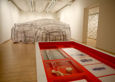 "'Installation view ""Sensate: Bodies and Design""'"