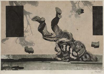 Palle Nielsen, 'Komposition over Jeremias Klagesange II, 22 (Composition on the Lamentations of Jeremiah II, 22) ', 1957
