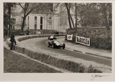Jesse Alexander, 'Pau Grand Prix (Maserati 250F)', 1955