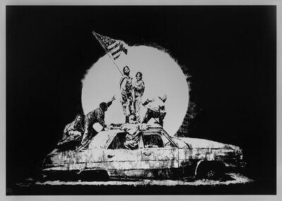 Banksy, 'Flags', 2006