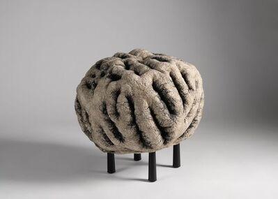 Ayala Serfaty, 'Rapa Series: Shastool Kuramura, Contemporary Handmade Footstool', Israel-2019