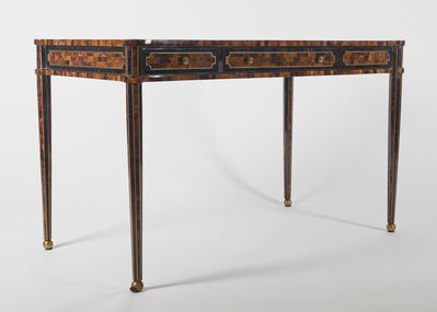 Maitland-Smith, 'Faux Tortoiseshell Inlay Partners Desk', ca. 1980s