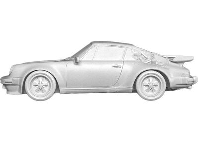 Daniel Arsham, 'ERODED 911 TURBO WHITE', 2020