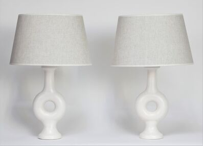Suzanne Ramié, 'Pair of Lamps', ca. 1950