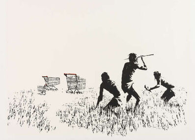 Banksy, 'Trolleys (LA Edition)', 2006