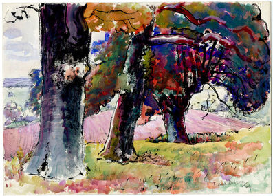 Frank Dobson, 'Through Tree Trunks', 1944