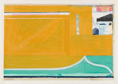 Richard Diebenkorn, 'Ochre', 1983