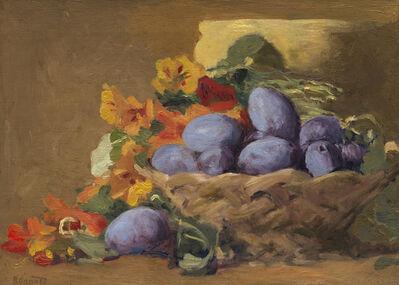 Pierre Bonnard, 'Red Plums', 1892