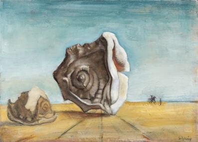 Nancy Ellen Craig, 'Surrealistic Landscape with Helmet Shells'