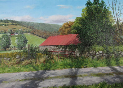 Eugene Conway, 'Red Barn In Autumn', 2019