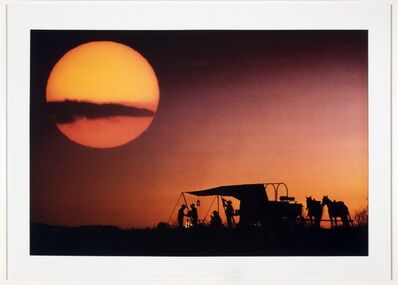 Richard Prince, 'Silhouette Cowboy', 1998-1999