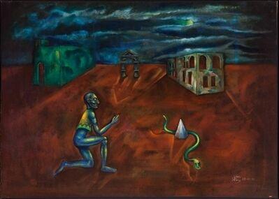 Joan Ponç, 'Ruïnes', 1950-1951