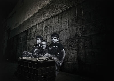 Luke Cornish (ELK), 'Boys selling gum, Old City Damascus', 2017