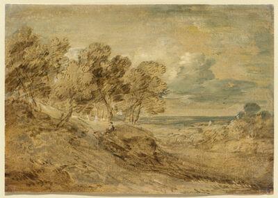 Thomas Gainsborough, 'Landscape with a View over a Distant Plain', ca. 1775