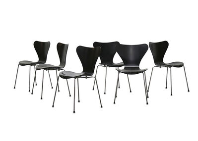Arne Jacobsen, 'A set of six Series 7 chairs'
