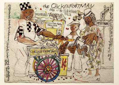 Aminah Brenda Lynn Robinson, 'Poindexter Series: The Chickenfoot Man', 1986