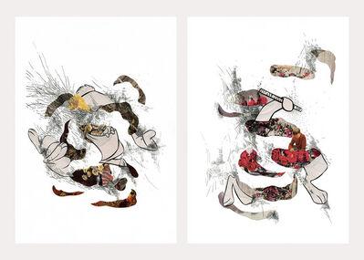 Catalina Schliebener, 'Sailors Series Diptych', 2016