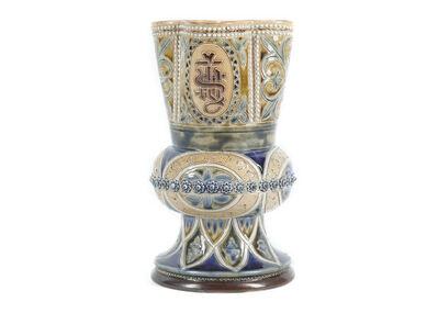 Doulton Lambeth, 'Altar vase', circa 1900