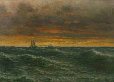 John Olson Hammerstad, 'Lake Michigan', 1887