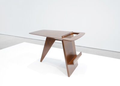 Jens Risom, 'Mid-Century Walnut Magazine Table', 1950-1959