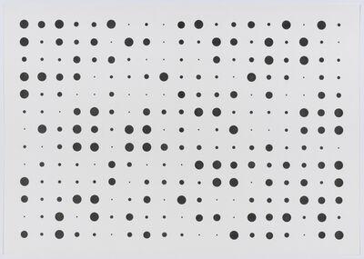 herman de vries, 'V71-122', 1971