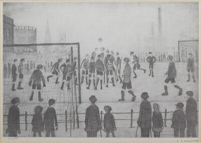 L.S. Lowry, 'A Football Match', ca. 1950