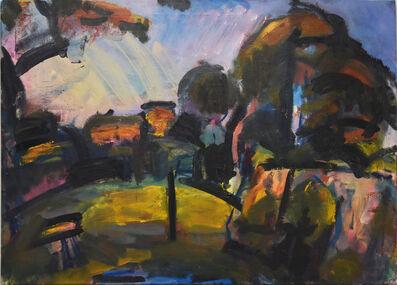 Sargy Mann, 'Janes Garden After Sun', 1968