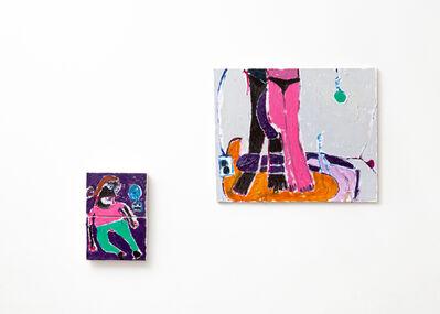 Bertô, 'La habitación (dyptich)', 2021