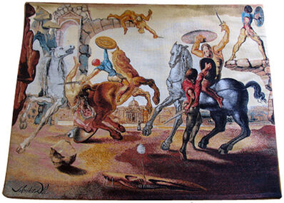 Salvador Dalí, 'Bataille autour d'une Pissenlit', 1988