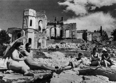 Yevgeny Khaldei, 'Life Again, Sevastopol, May, 1944', 1944