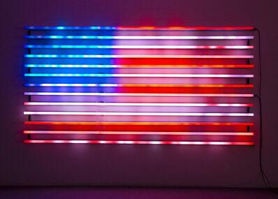 Leo Villareal, 'Flag', 2008