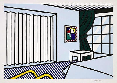 Roy Lichtenstein, 'BEDROOM', 1991