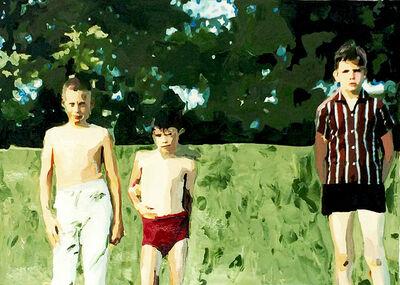 Lisa Golightly, 'Boys in the Field', 2016