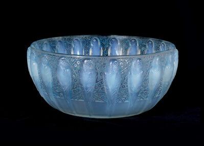 René Lalique, 'A Perruches bowl No. 419', circa 1931