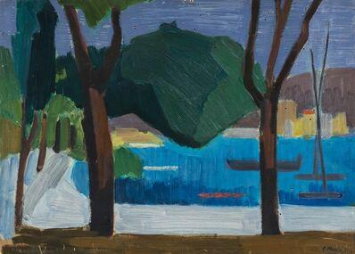Rolando Monti, 'Paesaggio', 1951