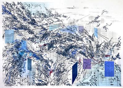 Camille Bonneau, 'Purple Abstract', 2018