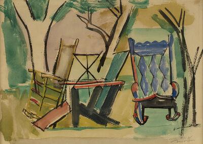 Jack Tworkov, 'Garden Chairs', c. 1949