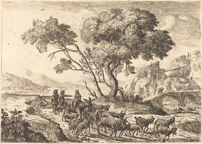 Claude Lorrain, 'Departure for the Fields (Le départ pour les champs)', ca. 1638/1641