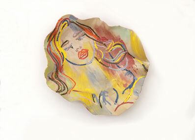 Ghada Amer, 'The Sleeping Girl', 2014